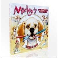 【全店300减100】英文原版 Marley's Storybook Treasury小狗玛丽亚绘本故事i can re