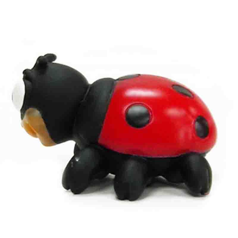 昆虫模型 蝴蝶 瓢虫 蜜蜂 蜘蛛小动物塑胶昆虫玩具6只套装