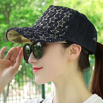 鸭舌帽子女夏天韩版潮户外防晒帽沙滩遮阳帽嘻哈棒球帽