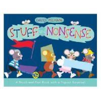 英文原版 Stuff and Nonsense: A Touch-And-Feel Book with a Pop-Up