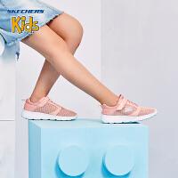 Skehers斯凯奇女童鞋新款软底轻质网布柔软防滑运动鞋