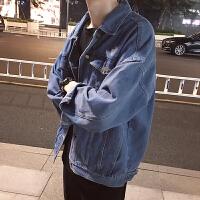 牛仔外套男士春秋2018新款韩版宽松学生休闲潮流褂子春季男装夹克