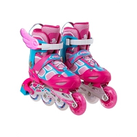 男女孩初学者 溜冰鞋儿童全套装3-5-6-8-10岁直排轮滑旱冰鞋