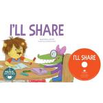 英文原版 Cantata Learning: I'll Share 书+CD 歌谣学英文 STEM教育绘本