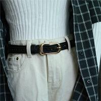女士皮带简约百搭镂空装饰腰带细学生时尚牛仔裤带潮