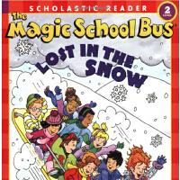 英文原版Magic School Bus Science Reader: Lost In The Snow (Leve