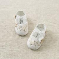 戴维贝拉秋季新款宝宝婴儿鞋 婴幼儿软底步前鞋DB9714