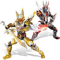 奥迪双钻凯铠甲勇士玩具猎铠进化版手办炎龙侠人偶帝皇侠套装模型
