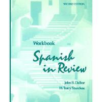 【预订】Spanish in Review, Workbook