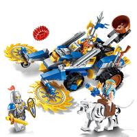 启蒙 海盗军事荣耀之战系列儿童拼插积木益智玩具男孩礼物 矮人秘密武器2308