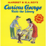 Curious George Visits the Library 好奇猴乔治参观博物馆 9780618065684