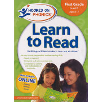 Hooked on Phonics Learn to Read First Grade Level 1迷上自然发音法