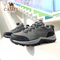 骆驼户外2019秋冬新款登山鞋男女越野运动鞋防滑耐磨低帮徒步鞋潮