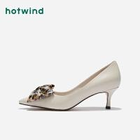 【2.29-3.2 2件3折】热风细跟女士时尚鞋H04W9514