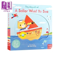 【中商原版】Sing Along With Me! A Sailor Went to Sea 跟我唱系列 水手出海 低幼