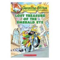 英文原版儿童书 Lost Treasure of the Emerald Eye 老鼠记者1:遗失的宝藏