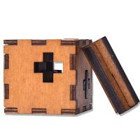 孔明锁木制玩具儿童玩具礼物解锁 瑞士立方体鲁班锁