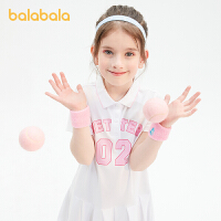 【券后预估价:104.9】巴拉巴拉儿童裙子女童公主裙2021新款夏装大童连衣裙运动风Polo裙