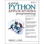 【预订】Core Python Applications Programming
