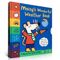 英文原版 Maisy's Wonderful Weather Book 小鼠波波认知天气书 儿童启蒙认知科普玩具纸板书