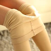 丝袜秋天连裤袜加厚肉色袜子女春秋加肥加大加绒打底裤袜薄绒