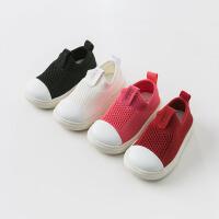 戴维贝拉秋季新款男女童飞织运动鞋宝宝轻便板鞋DB9727