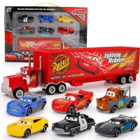 汽车赛车总动员3合金车儿童玩具车黑风暴麦昆2麦大叔板牙组合套装