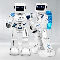 阿尔法机器人水电混合智能遥控会跳舞对话机械战警儿童男玩具