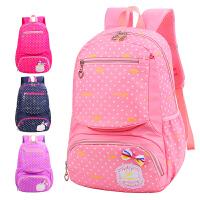 儿童书包6-12周岁双肩背包书包小学生女孩女童1-3-4-5-6年级
