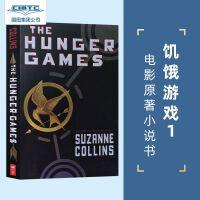 【预售】英文原版 饥饿游戏 Hunger Games 卷一 大表姐詹妮弗・劳伦斯主演系列电影同名小说卷一 平装版