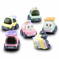 宝宝玩具车模型儿童惯性小汽车回力工程车婴儿飞机玩具男孩1-3岁