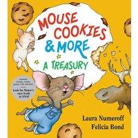 Mouse Cookies & More: A Treasury 英文原版 要是你给老鼠吃饼干系列合集(四个故事,含食