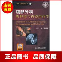 腹部外科腹腔镜与内镜治疗学 【正版书籍】