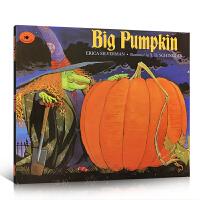 【全店300减100】英文原版 Big Pumpkin 万圣节的大南瓜 启蒙4-6-8岁儿童阅读英语单词词汇 睡前小故事