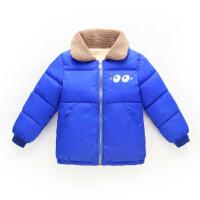 儿童羽绒男童女童棉袄宝宝羊羔绒加厚棉衣婴儿加绒保暖衣外套