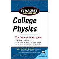 【预订】Schaum's Easy Outline of College Physics, Revised