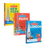 【中商原版】孤独星球童书乐高LEGO创意指南积木城市3册 英文原版 Brick City (Lonely Planet