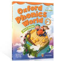 【全店满300减100】Oxford Phonics World 2 short vowels 牛津自然拼读法 英文原版