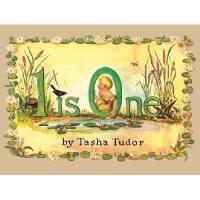 1 Is One 英文原版儿童书 *是一(儿童启蒙经典绘本,凯迪克银奖)