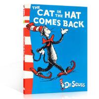 【全店300减100】英文原版 The Cat in the Hat comes back 戴帽子的猫苏斯博士6-9岁