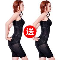 产后女薄款收腹束腰塑身提臀衣服连体无痕美体塑形减肚子