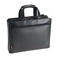 联想 12寸笔记本电脑包手提皮包单肩背包商务办公包学生书包旅行包 皮革挎包男士女士通用 X系列红点包 30R5811