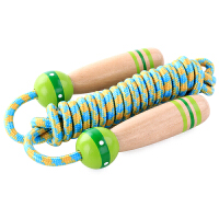 花样跳绳儿童健身运动中小学生花式跳神表演珠节绳子玩具