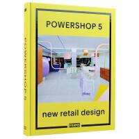 Powershop 5: New Retail Design 空间设计 商业店铺室内装饰装修设计书