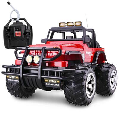【满2件5折】活石 遥控汽车悍马越野车遥控车充电儿童玩具车模模型男孩玩具