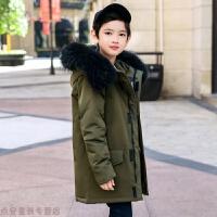 冬季儿童羽绒服2018新款冬男童中长款加厚韩版男孩中大童外套秋冬新款