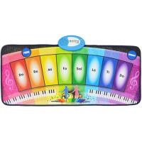迷你彩虹钢琴毯玩具儿童爬行垫跳舞音乐脚踩脚踏琴
