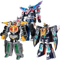 儿童玩具男孩巨神战击队2玩具合体变形机器人豪华版太阳战机王星球天 奥迪双钻正品保证