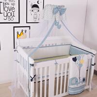 宝宝床通用罩可折叠蚊账便携式夏季婴儿蚊帐带支架儿童落地蒙古包