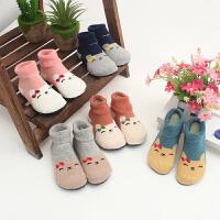 婴儿软底袜鞋儿童室内地板袜鞋袜宝宝家居鞋